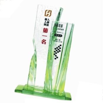 HA-367 彩透琉璃獎座